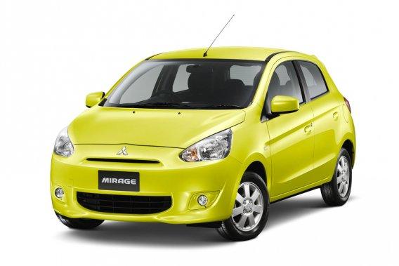 La Mirage de Mitsubishi est lancée sur le marché thaïlandais.