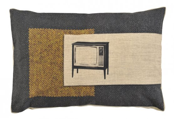 Coussin «Mad Men» de grain de couleur, collection Life. 72$. (Photo: iddko.com)