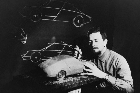 Ferdinand Alexander Porsche, le designer de la légendaire Porsche 911.