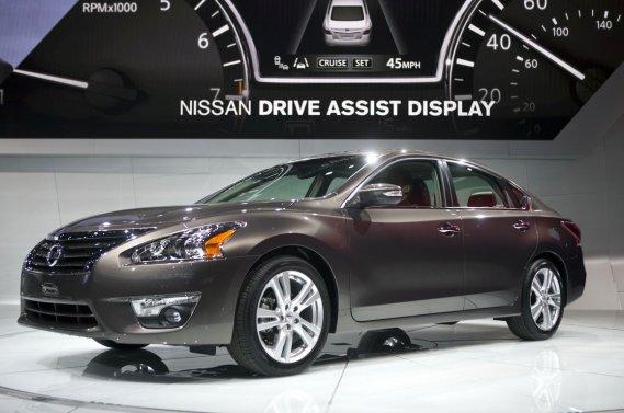 La nouvelle Nissan Altima 2013.