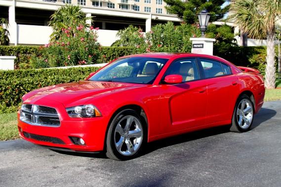 La Dodge Charger 2012 garde à peu de choses près les dimensions du modèle d'origine.
