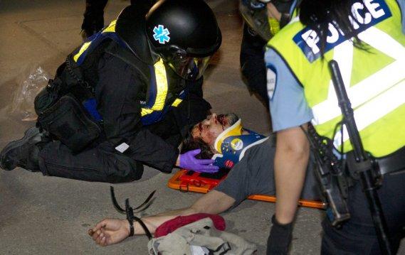 27e manif nocturne: près de 200 arrestations