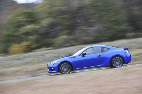La Subaru BRZ 2013. (Photo fournie par Subaru Canada)