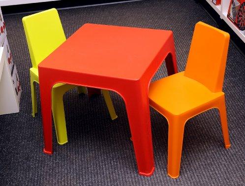 Pin plastik le soleil royal heller modell 1100 seite 2 for Table chaise pour enfant