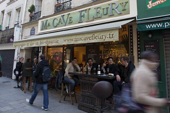 Visite de la Cave Fleury dans le 2e arrondissement. (Photo François Roy, La Presse)