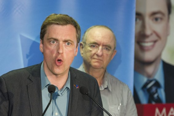 Le libéral Marc Tanguay a remporté la circonscription de LaFontaine. (Photo Édouard Plante-Fréchette, La Presse)