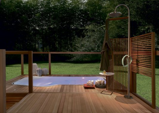Des id es pour un spa chez soi lucie lavigne design for Amenagement spa exterieur