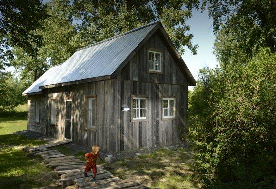 La grange du jardin carole thibaudeau r novation verte - Grange les meubles de famille ...