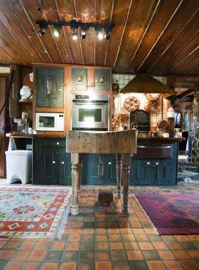 Domaine champ tre saint c saire val rie v zina for Plancher cuisine bois
