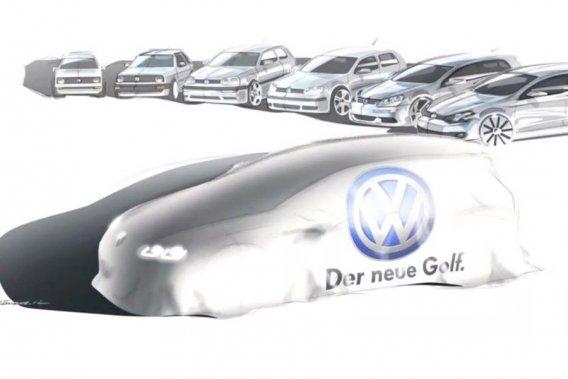 La Golf de septième génération sera dévoilée officiellement au Mondial de l'Auto de Paris, en septembre.