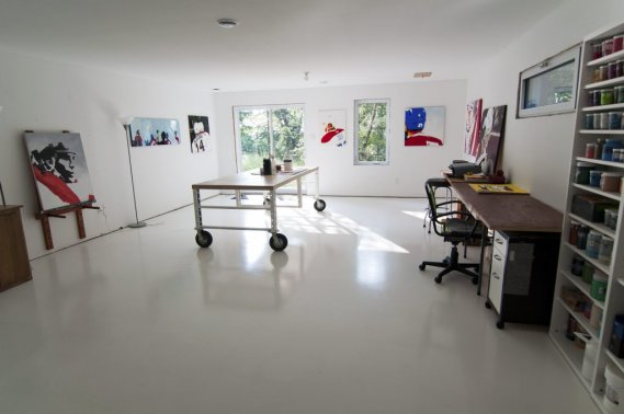 L 39 aventure de l 39 autoconstruction val rie v zina - Atelier artiste peintre ...