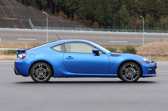 La Subaru BRZ. (Photo fournie par Subaru)