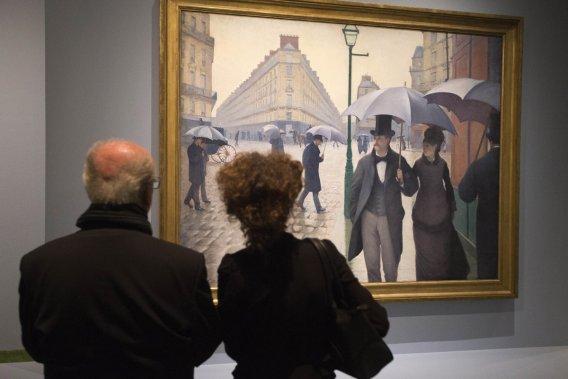 Le musée d'Orsay à Paris en France. ()