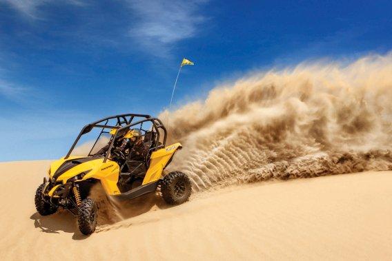 Le nouveau Maverick de BRP est annoncé comme véhicule «côte-à-côte» le plus nerveux, le plus puissant et le plus sportif offert sur le marché.