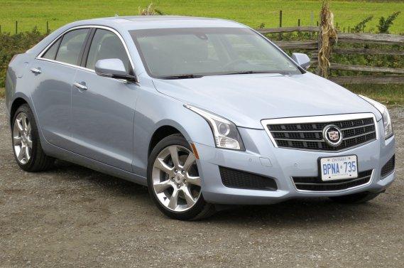 La Cadillac ATS 2013.