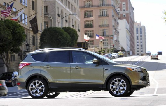 Le Ford Escape 2013. (Photo fournie par Ford)