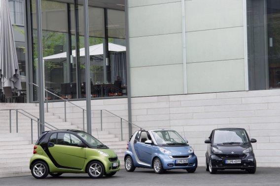 Les petits véhicules Smart rencontrent les attentes écologiques et économiques de la clientèle de SMARTme.