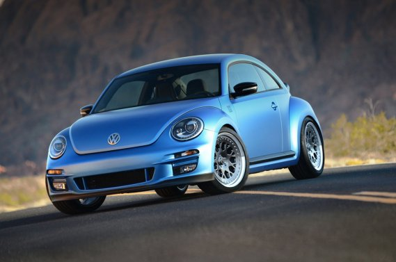 La Volkswagen Ultimate Super Beetle. (Photo fournie par Volkswagen)