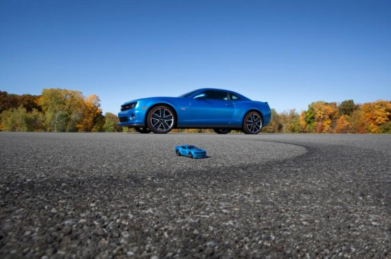 La Chevrolet Camaro Hot Wheels. (Photo fournie par Chevrolet)