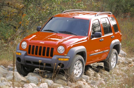 Le Jeep Liberty Sport 2002.