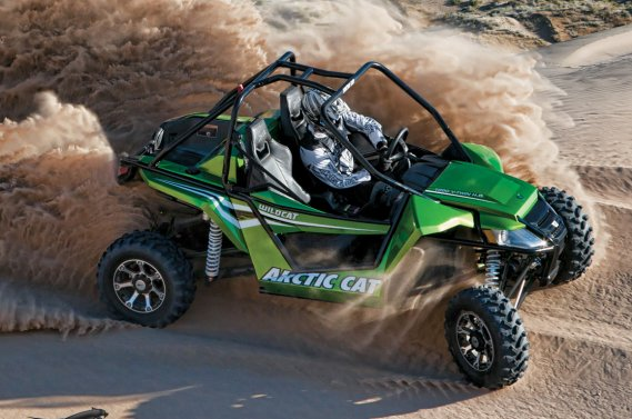 L'Arctic Cat Wildcat 1000.