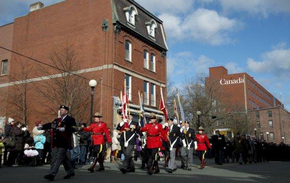 Jour du Souvenir à St. John's, à Terre-Neuve-et-Labrador. (PC)