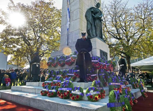Jour du Souvenir, à Halifax. (PC)