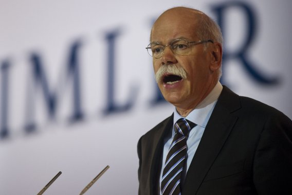 Le chef de l'exploitation de Daimler, Dieter Zetsche.