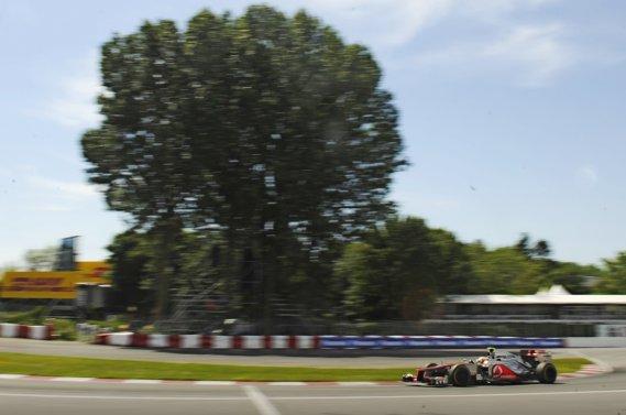 Lewis Hamilton, vainqueur du Grand Prix du Canada en 2012.