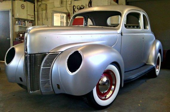 Ford Restoration Parts a dévoilé son «nouveau» coupé Ford 1940 à la récente exposition SEMA, à Las Vegas.