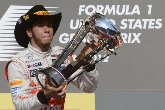 Lewis Hamilton a remporté la course.
