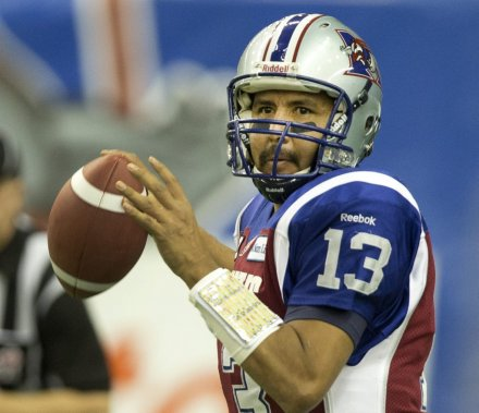 Anthony Calvillo ne participera pas au 100e match de la Coupe Grey. (Robert Skinner, La Presse)