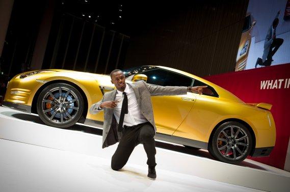 Cette Nissan GT-R couleur or sera mise aux enchères sur eBay à compter du jeudi 22 novembre.
