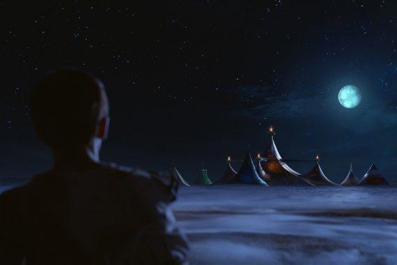 Cirque du Soleil - Worlds Away (Le voyage imaginaire) - Sortie le 7 décembre (Photo: Paramount Pictures)