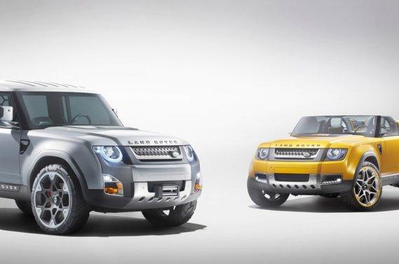 Les prototypes DC100 pourraient servir de base à de nouveaux Land Rover.