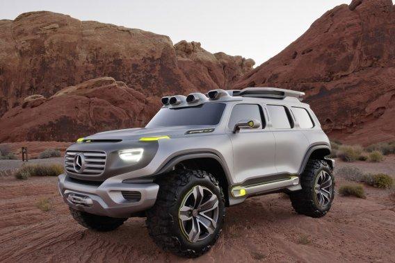 L'étude de style Ener-G-Force de Mercedes-Benz laisse entrevoir le design des VUS à venir du constructeur.
