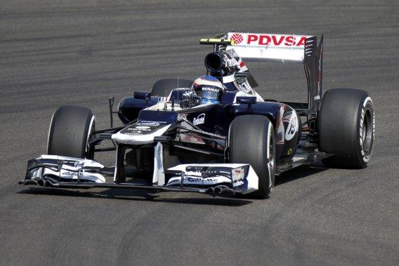 Le Finlandais Valtteri Botta était pilote de réserve avec l'écurie Williams durant la dernière saison.