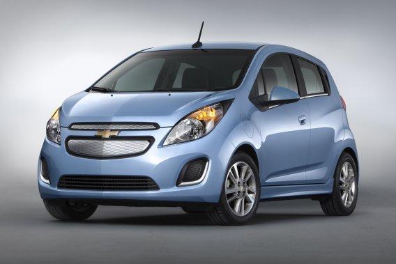 La Spark électrique de Chevrolet.