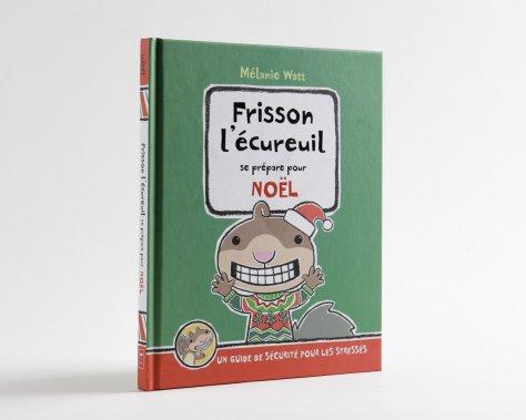 «Frisson l'écureuil se prépare pour Noël». Les jeunes fans de Mélanie Watt aiment bien se moquer de son écureuil stressé et hypocondriaque qui dresse des listes absurdes pour se prémunir contre des calamités imaginaires. On rigole et on reconnaît, un peu, certains grands stressés des Fêtes. À partir de 3 ans. (Ceux qui savent lire l'aiment encore beaucoup!) Mélanie Watt, Scholastic, 80 pages,19,99$. ()