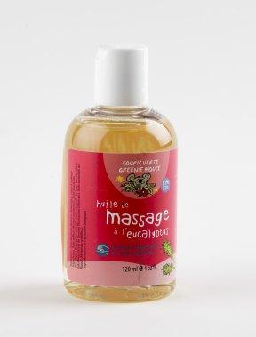 Huile de massage à l'eucalyptus Souris verte. 16,95$ pour 120ml, www.sourisverte.ca ()