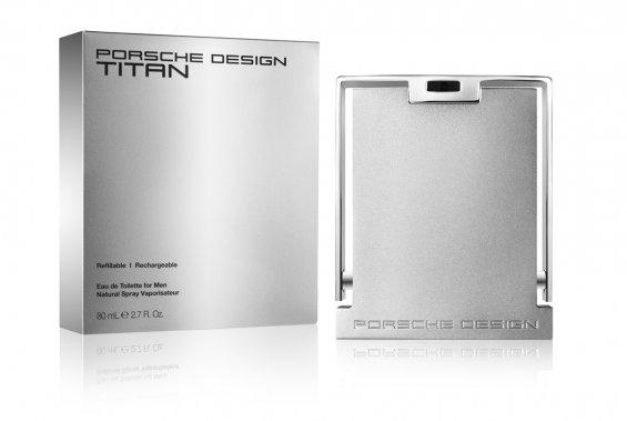 Titan de Porche Design. 66$/50ml ou 90$/80ml Vapo rechargeable, www.jeancoutu.com. ()