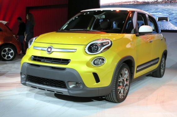 La Fiat 500L Trekking, qui combine style et robustesse, devrait être réservée à la clientèle nord-américaine de la marque italienne.