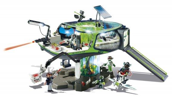 Une station spatiale. Future Planet 5149 – Base des E-Rangers, par Playmobil. 129,99$. Dès 7 ans. Renseignements: 1-800-263-4734 poste 227 ()