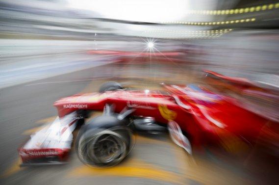 Encore une fois en 2012, il y a eu de l'action en piste en Formule 1.