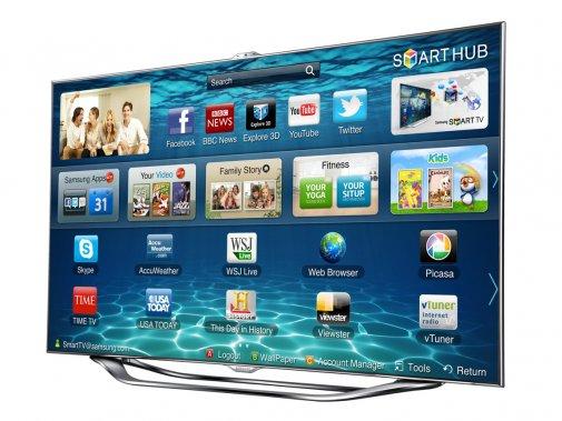Attrayant. Samsung ne fait pas que des téléphones fort attrayants. Ses téléviseurs le sont tout autant, jusqu'à son énorme télé intelligente à DEL de 75 pouces de diagonale. Plus modeste, la série ES8000 commence à 46 pouces et offre le même design épuré ainsi que les mêmes fonctions évoluées, allant de Netflix à Tou.tv en passant par l'accès aux disques réseau. Difficile de demander mieux. Samsung ES8000, 2200$, www.samsung.ca ()