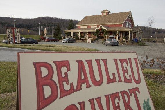 Le marché de la ferme Beaulieu, parfait pour faire des provisions. (Photo: Alain Roberge, La Presse)