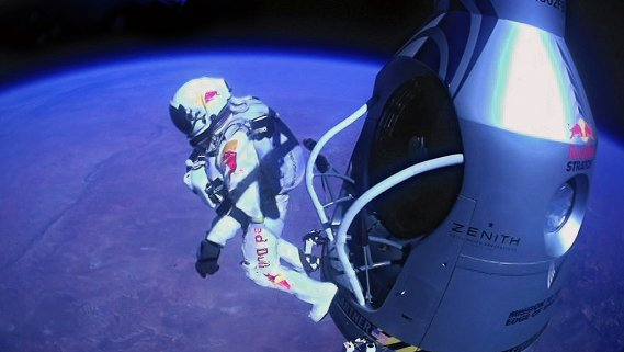 (Ap Photos/Red Bull Stratos)