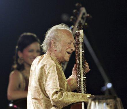 Ravi Shankar en février 2009 (Photo: AFP)