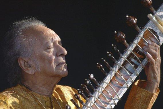 Ravi Shankar au festival Paleo de Nyon en Suisse. (Photo: AP)