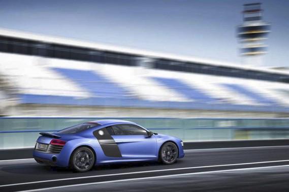 L'Audi R8 Plus 2014: plus puissante mais moins gourmande.